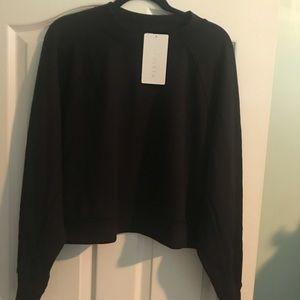 Athleta 2x Plus Sz Crop Sweatshirt